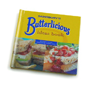 Brandedbooks for Sainsbury's Butterlicious Ideas Book
